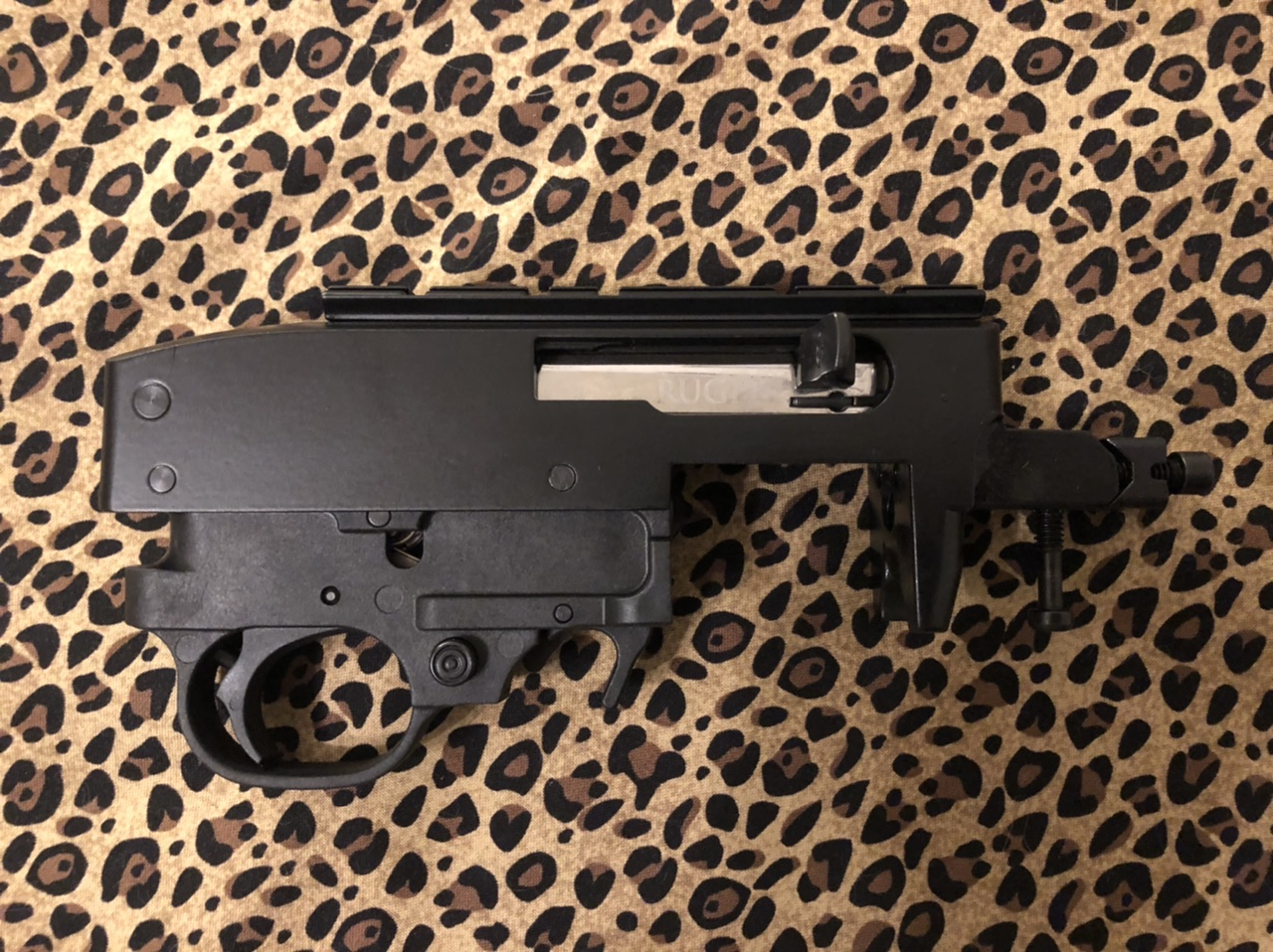 Ruger 10 22 Complete Receiver Black Sapoutfitters Com